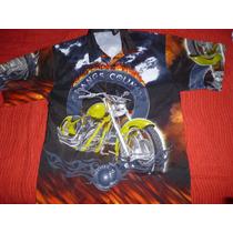 Camisa Motoquera