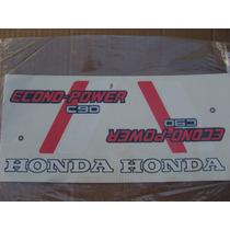 Honda Econo Power C90 Juego Calcos Repuesto Simil Original