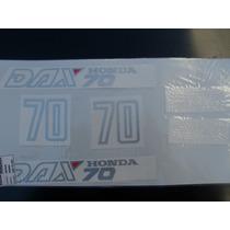 Honda Dax 70 Año 1996juego Calcos Repuesto Simil Original
