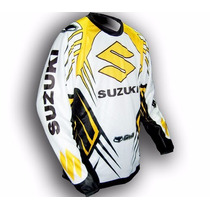 Conjunto Pantalon Y Buzo Motocross Fox Gama Nacional Suzuki