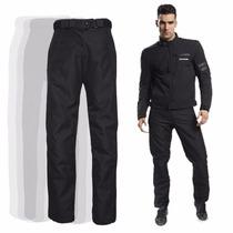 Pantalon Ls2 Challenge Cordura Proteccion Termico Moto Delta