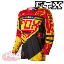 Remera Fox 360 Mxon Intake Jersey Motocross Plazamotos
