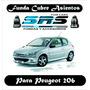 Funda Cubre Asientos De Cuero Eco P/ Peugeot 206
