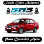 Funda Cubre Asientos De Cuero Ecolog Para Chevrolet Aveo G3