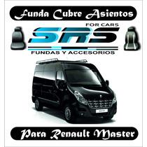 Funda Cubre Asientos De Cuero Ecológico P/renault Master