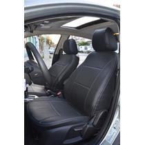 Fundas Asientos Cuerina Premium Renault Logan L/ant -carfun-