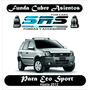 Funda Cubre Asientos D Cuero Ecológico P/ford Eco Sport