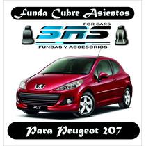 Funda Cubre Asientos De Cuero Eco P/ Peugeot 207