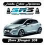 Funda Cubre Asientos De Cuero Eco P/ Peugeot 208