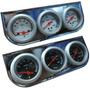 Kit De Relojes Voltimetro Temp Agua Precion Aceite Tuning