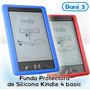 Funda Silicona Protectora Kindle 4 Colores - Envío Económico