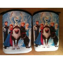 Fundas Tablet Estampada Frozen - Princesas - Kitty