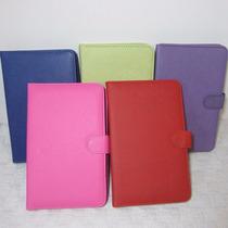 Funda Con Teclado Español Posicion Lectura Tablet 7 Colores