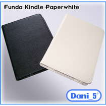 Funda Cover P/kindle Paperwhite, Botón Inmantado + Regalo