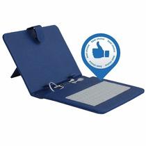 Funda Ecocuero Colores + Teclado Tablet 9 Pulgadas Micro Usb