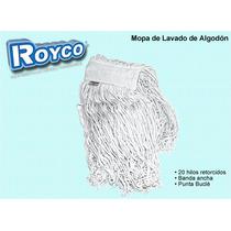 Mopa Lampazo Algodon 20 Hilos Retorcidos Punta Boucle 500