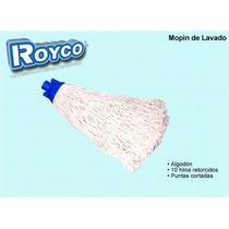 Mopin De Algodon Para Lavado 10 Hilos Retorcidos Royco 280gr
