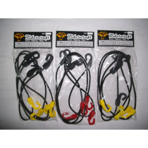 Tensores Elasticos Kit X 2 + 8 Ganchos- 3 Mts Ridercraft