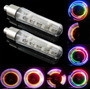 Luz Led Neon Para Válvula - Bicicleta Auto Moto Potente