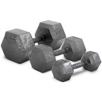 Mancuerna De 4 Kg Fundicion Metal Maciza Pesa Gym Cap Fed