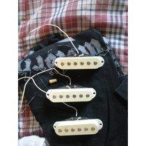Pickups Set De Mics Stratocaster Fernandes R8