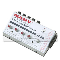Mini Mixer Nady Mm-141 4 Canales