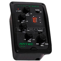 Microfono Ecualizador Artec Ceq4 Con Afinador Para Guitarra