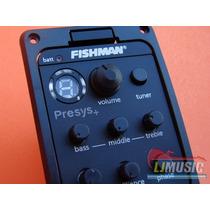 Fishman Presys+ Pream + Microfono + Afinador Para Guitarra