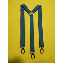 Tirador Pantalón Suspenders Mosqueton Vaqueros Jeans 3cm