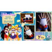 Tejidos A Crochet - Sailor Moon - Guantes