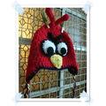 Gorro Angry Bird - Crochet