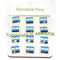 Pins Prendedor Escarapela Escudo De Argentina X 12 Unidades