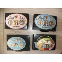 Hebillas Para Cinturon Texanas Con Piedras Origen Usa