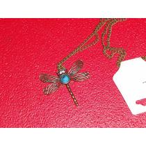 Collar Libelula Butterfly Cadena Adorno Colgante Geek