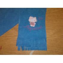 Bufandas De Polar Bordadas Personalizadas
