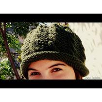 Sombreros Gorros Tejidos A Mano Lana De Primera Calidad