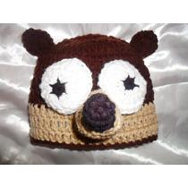 Rigby - Un Show Más Tejido Al Crochet De Invierno Infantil
