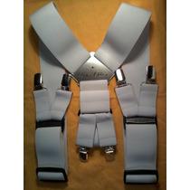 Tirador Para Pantalón Doble Pinza Madison Blanco 5cm