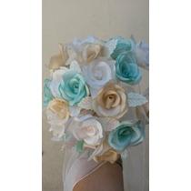 Ramo Pequeño De Flores Para Novias Ceremonia Civil Tirar Ram