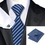 Corbatas Pañuelo Gemelos Las Grandes Marcas Exclusivas 7,5cm