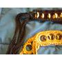 Excelentes Cinturones Tejidos Al Crochet Con Aros Metálicos
