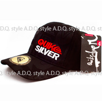 Gorra Vicera Negra Black Flex Fit Importada Elastica Prints