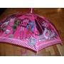 Paraguas Infantil Monster High Violetta Violeta Barbie Gabym