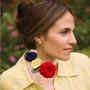 Original Y Exclusivo Collar Tipo Gargantilla Tejida Crochet