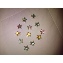 Tachas De Metal En Forma De Estrella Para Ropa De Varios Col