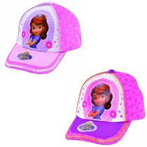 Gorra Princesa Sofia Y Doctora Juguetes - Licencia Disney