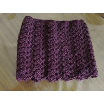 Cuello De Abrigo Tejido A Crochet Para Mujer- La Plata