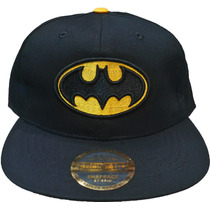 Gorra Superheroes Vicera Plana Batman, Superman, Capitan A.