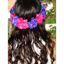 Coronas De Flores Ideal Para Lucir En Este Verano!!!