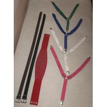 Lote 31 Arts. , Cinturones, Faja Y Tiradores Mujer Y Hombre